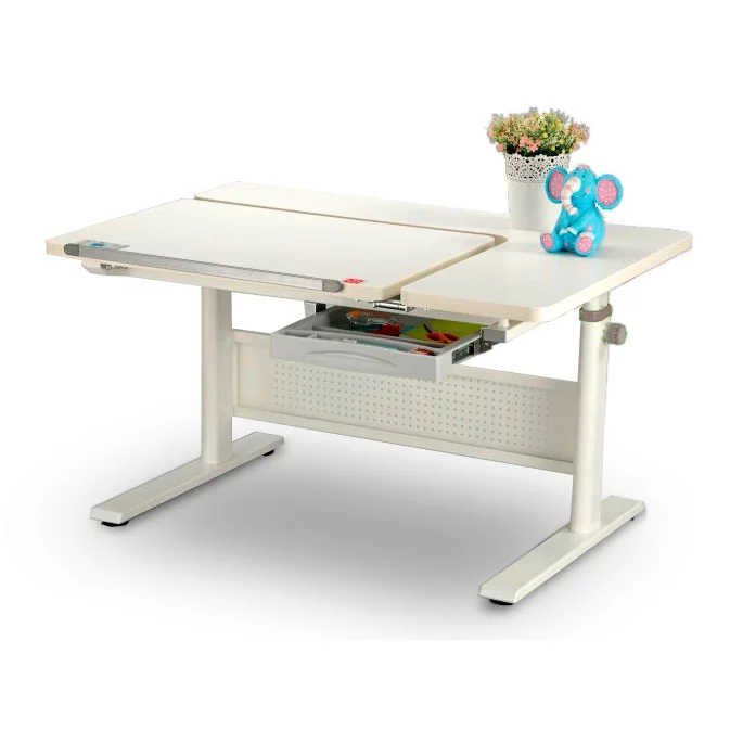 Растущая парта KidsMaster K9-Queen Desk белый
